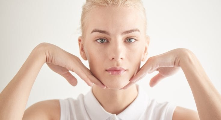 4 Facial Exercises to Get a Killer Jawline